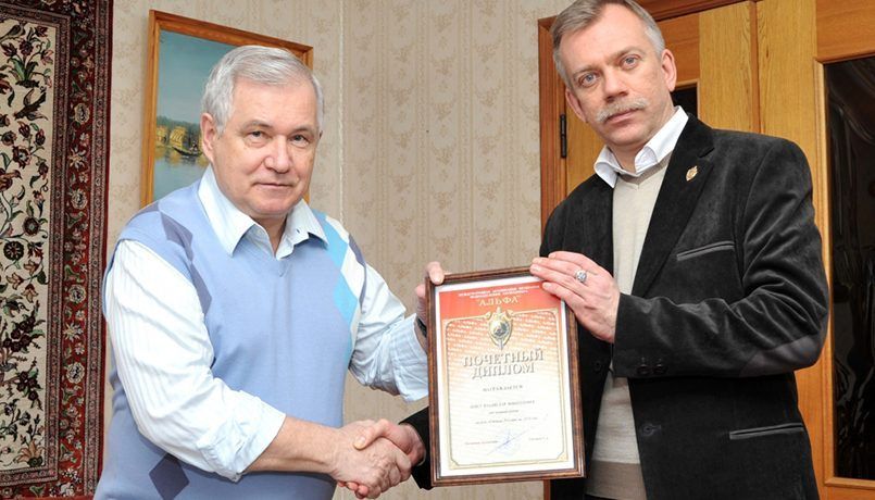 Vladislavas Švedas (iš kairės) / Nuotr.: specnaz.ru